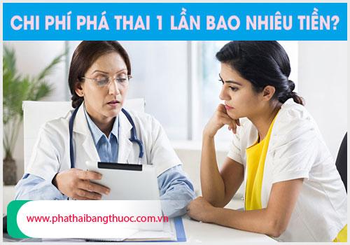 Bảng giá phá thai tại TPHCM là bao nhiêu?