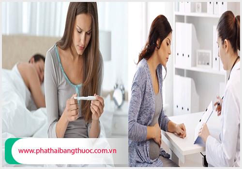 Phá thai là tình trạng chấm dứt hoạt động của thai nhi
