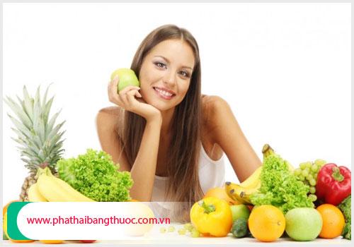 Chậm kinh cần ăn uống đủ chất dinh dưỡng