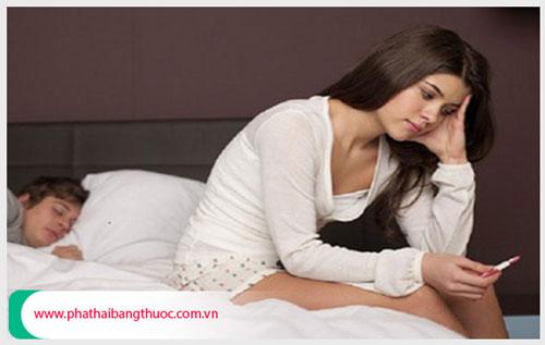 Phá thai 1 tháng tuổi an toàn ở Tphcm ?
