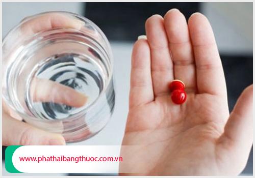 Phá thai bằng thuốc sẽ thấy xuất huyết âm đạo