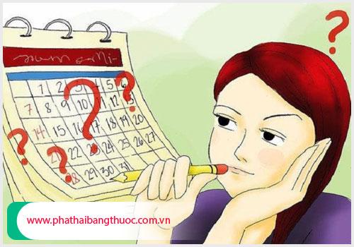 Rối loạn kinh nguyệt sau phá thai có thể do rối loạn nội tiết tố nữ